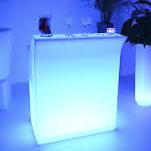 bar lumineux droit